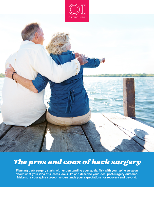 pros and cons of back surgery cover