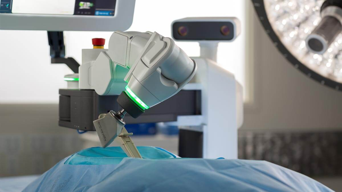 Back surgery with Mazor X Robotic Guidance System